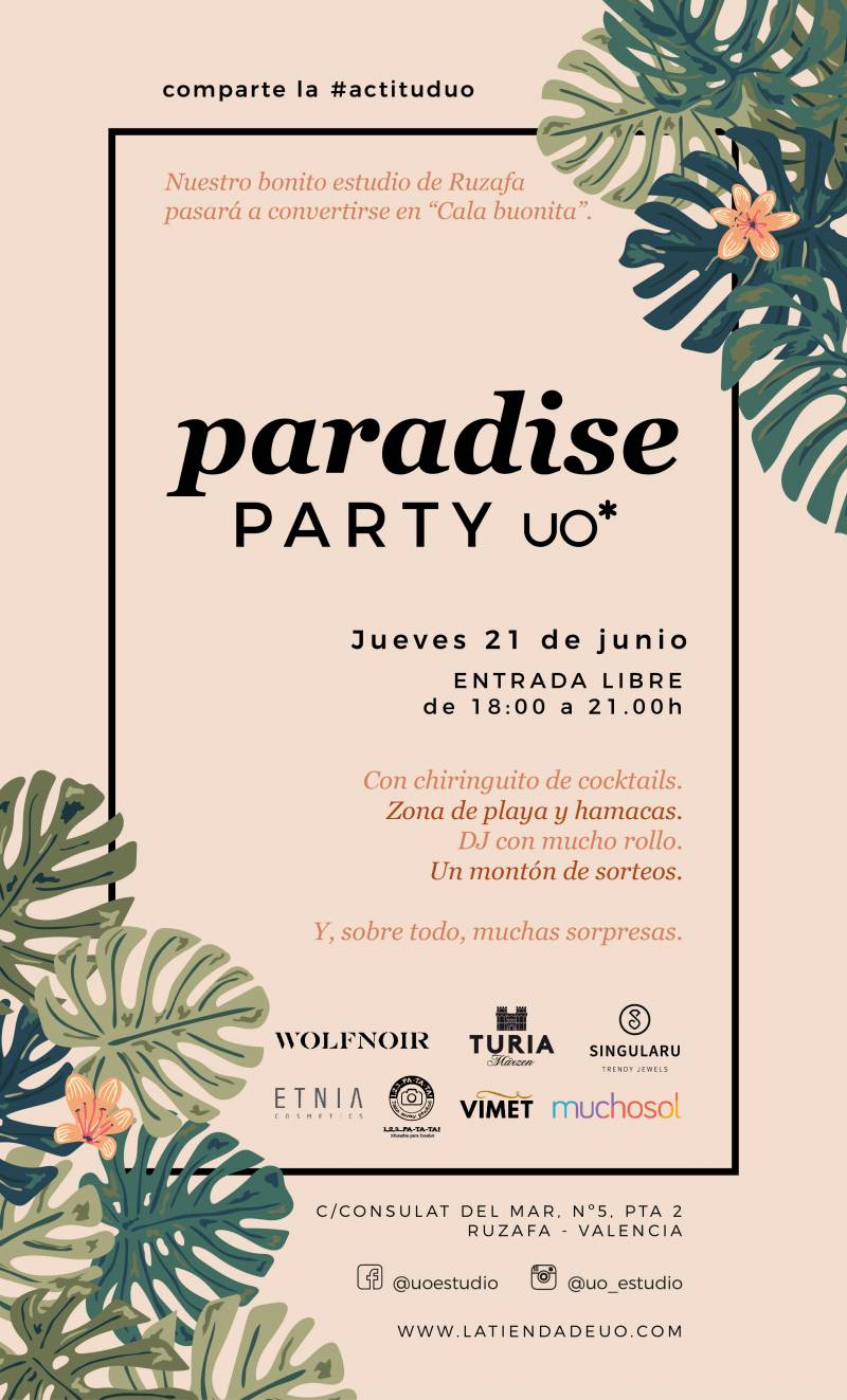 Cartel Paradise Party UO*
