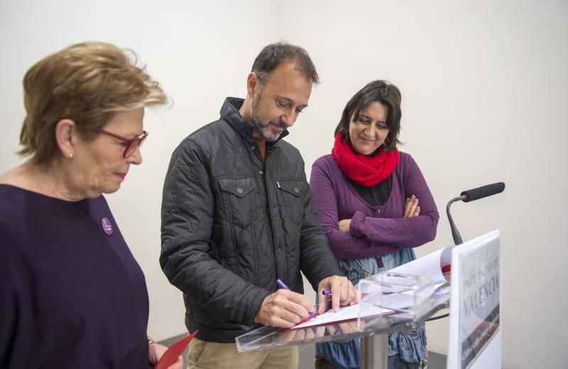 Firma convenio por igualdad de género en Escalante // Abulaila