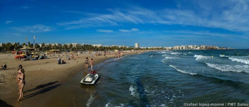 Playa de Llevant, Salou. © rafael lópez-monné / PMT Salou