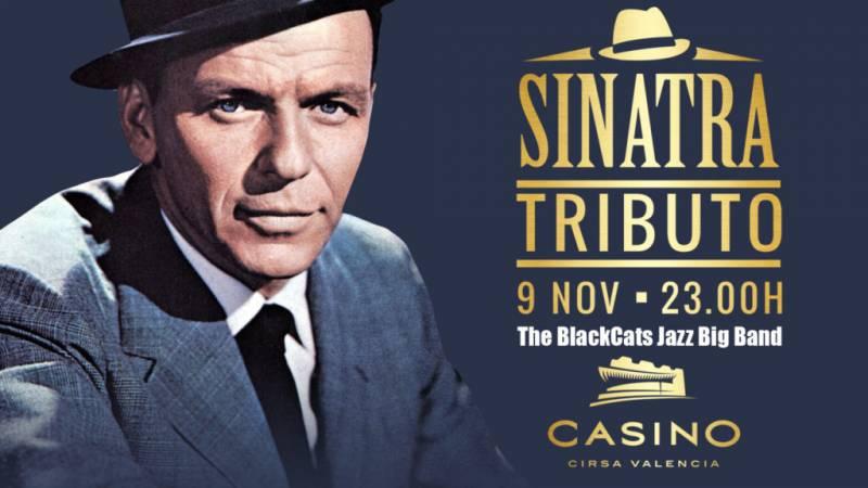 Tributo Sinatra 9 noviembre 18 Casino Cirsa Valencia
