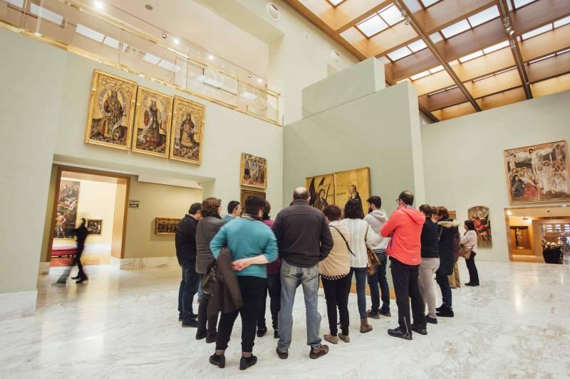 Museu Belles Arts Valencia visitants