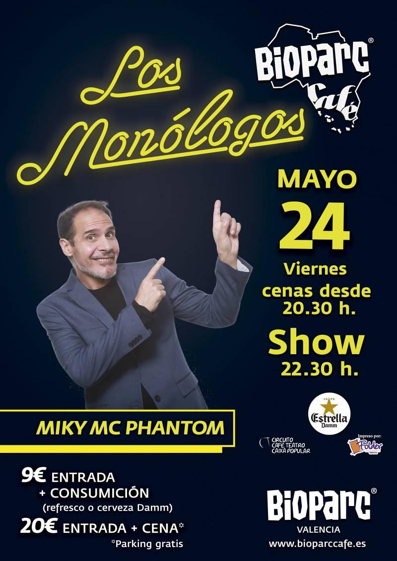 Miky MC Phantom en BIOPARC Café - Los Monólogos de BIOPARC Café