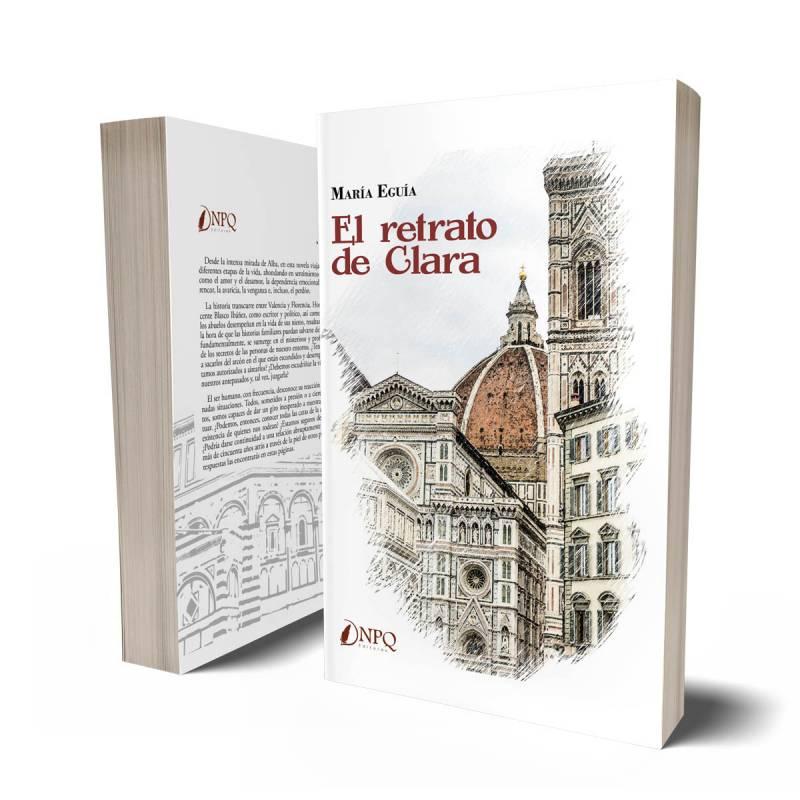 Libro El retrato de Clara./ EPDA