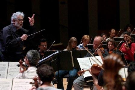 La Orquestra de la Comunitat Valenciana visita Alicante y Castellón con Plácido Domingo como director musical. FOTO: EPDA
