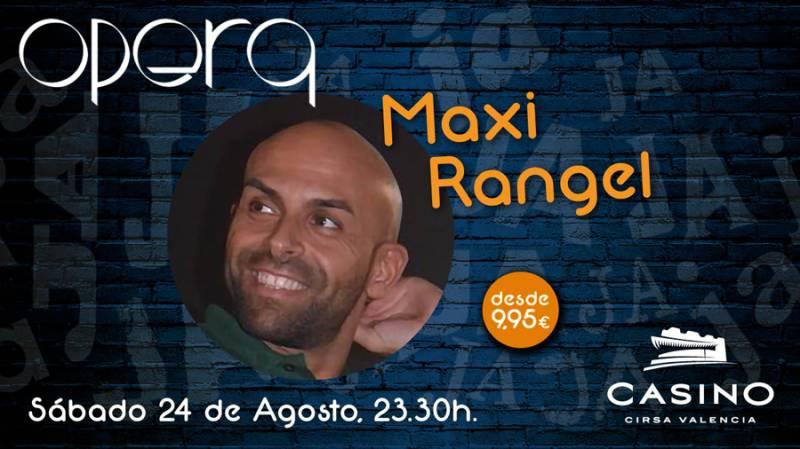 El cómico Maxi Rangel actuará en el Casino Cirsa València. ViuValència