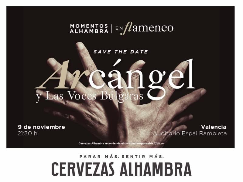 Arcángel y Las Voces Húngaras. Momentos Alhambra en Flamenco