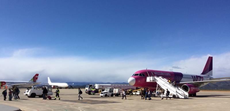 El aeropuerto de Castellón retoma la ruta a Budapest con una previsión de 23.000 pasajeros y pasajeras en 2020