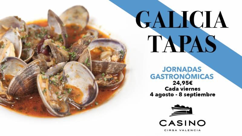 Jornadas Gastronómicas agosto Casino Cirsa Valencia