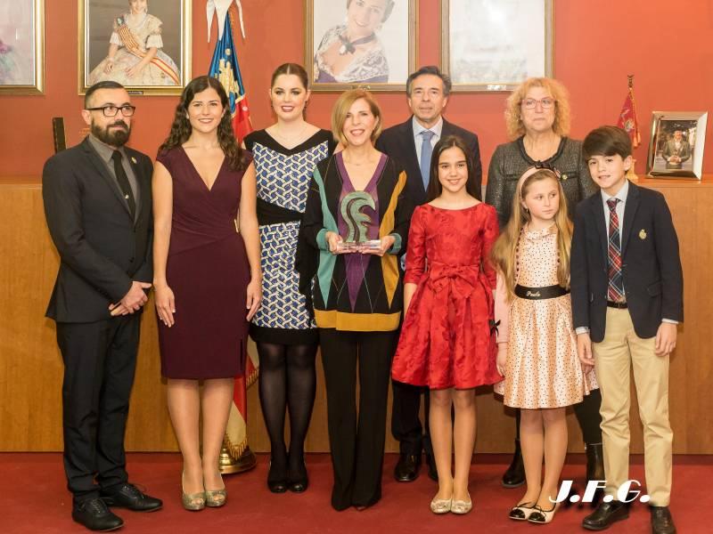 Sole Giménez recibe el Premi de les Arts Vicente Monfort 2018