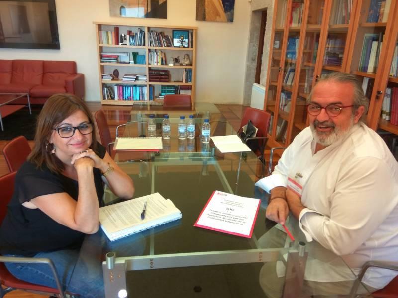 Carmen Amoraga y Pedro Rodríguez