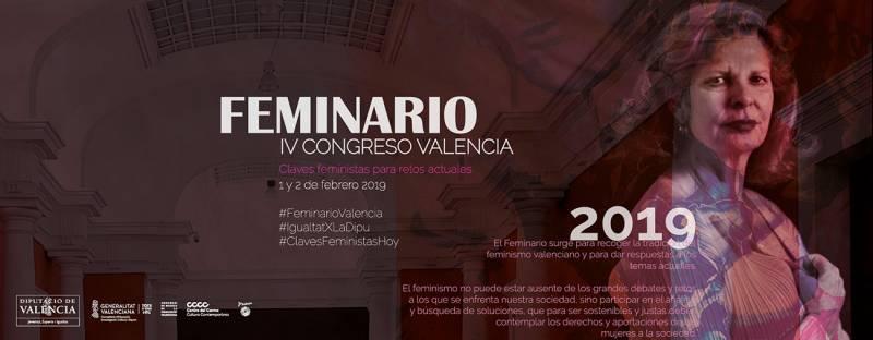Cuarto Feminario de la Diputació de València