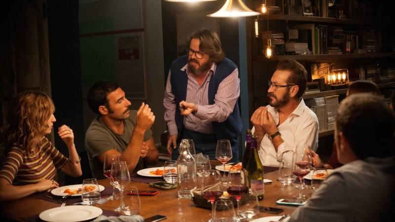 Imagen de la película en versión italiana,