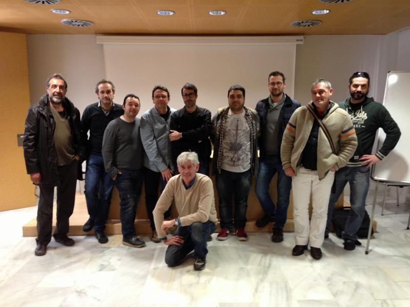 Miembros del nuevo colectivo En Viu! (Viu València)