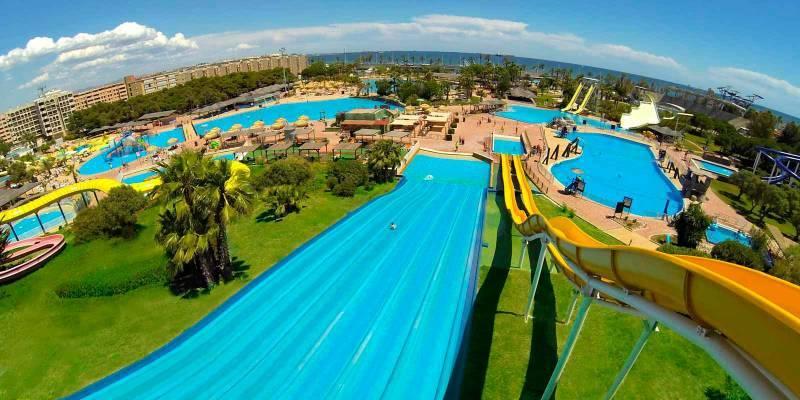Parques acuáticos en la Comunidad Valenciana