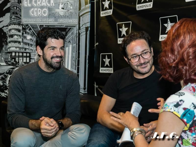 Entrevista a los actores Miguel Ángel Muñoz y Carlos Santos