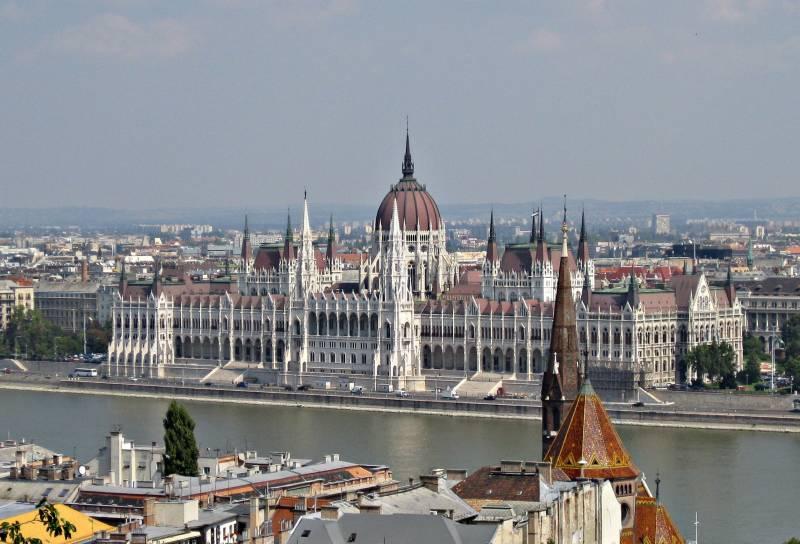 Parlamento de Hungría, Budapest, Foto Clara Estrems