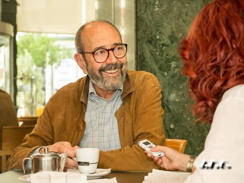 Entrevista a Miguel Rellán uno de los pilares de la dramaturgia en España