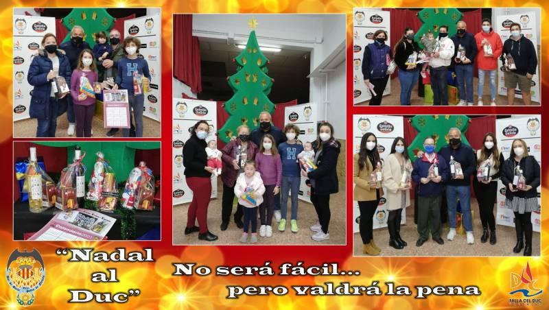 Imagen de archivo cesta de Navidad./ EPDA
