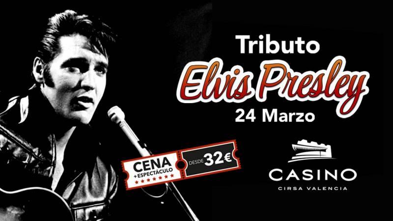 Tributo Elvis Casino Cirsa Valencia