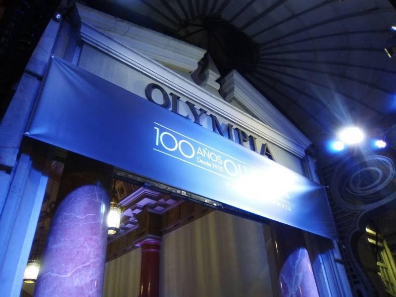 Fachada del Teatro Olympia