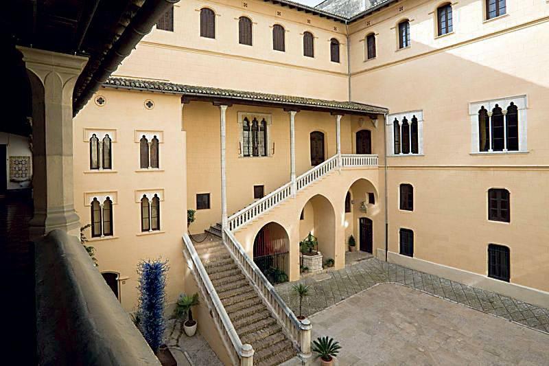 Palacio de Gandia. FOTO EPDA