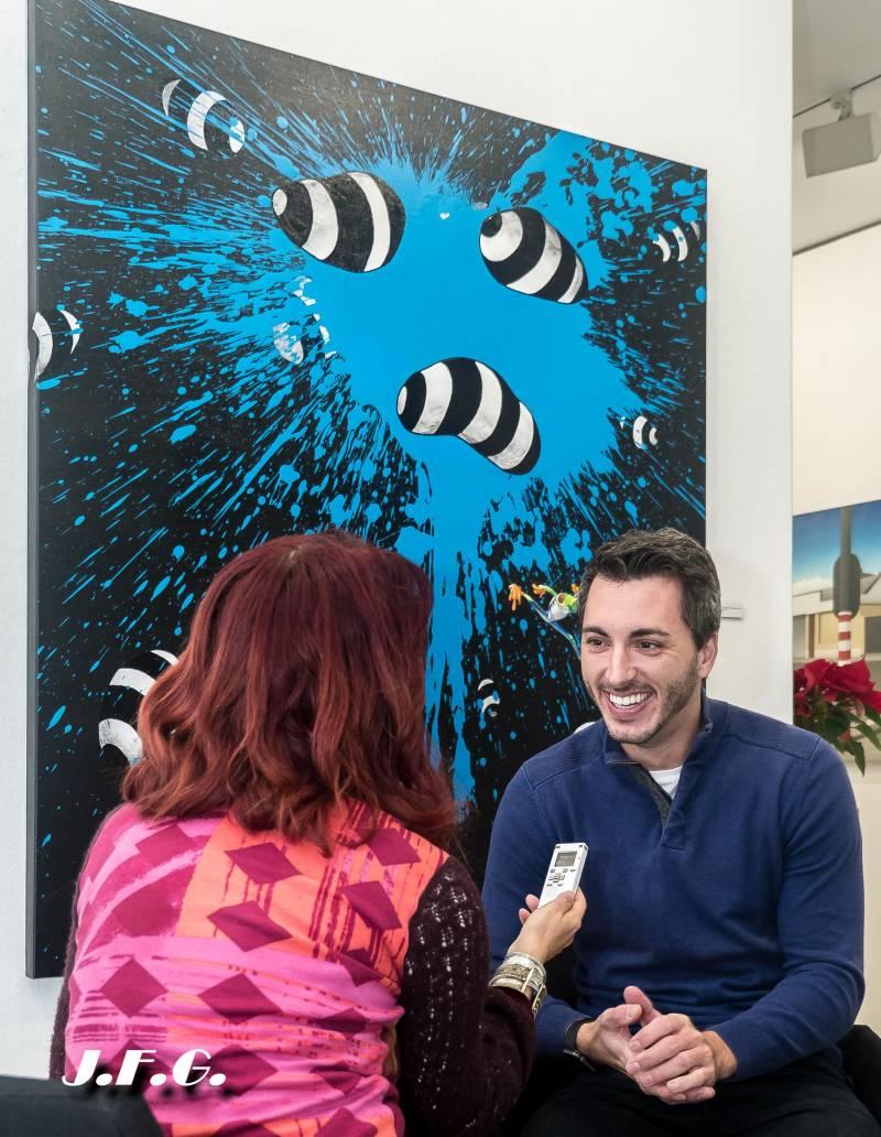 El pintor valenciano Vicente Marzal triunfa en el mundo