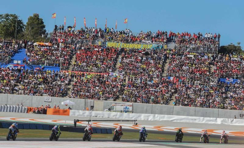 Grada extra MotoGP Valencia