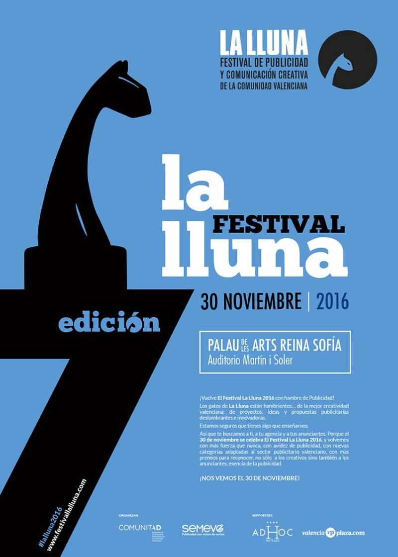 Cartel del Festival La Lluna 2016