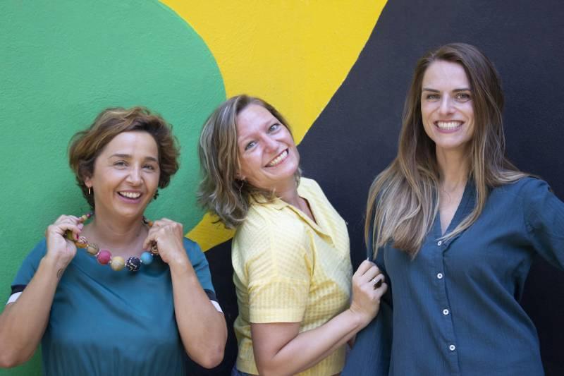María de Quesada, Desirée Tornero y Cristina Martínez-Vallier.