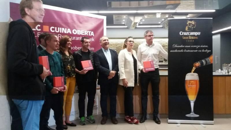 Los restaurantes premiados en Cuina Oberta