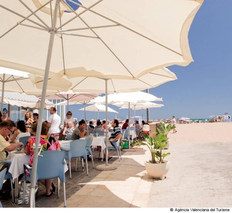Restaurante playa Valencia
