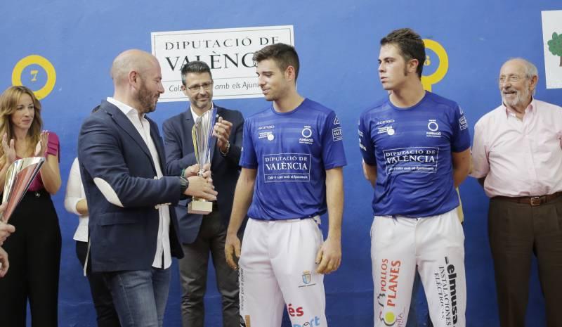 XIII Trofeo Diputació de València de Frontón