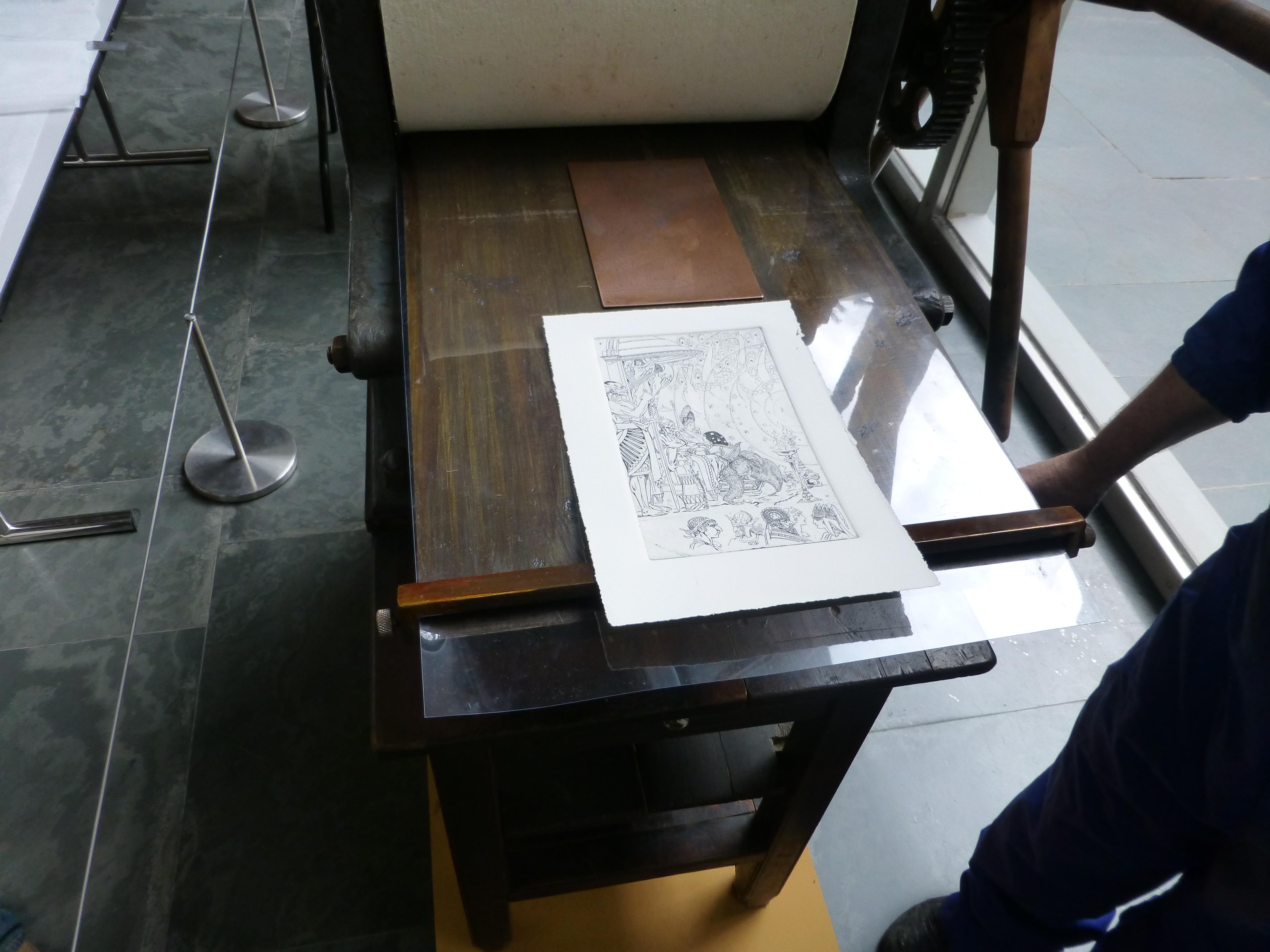 Grabados que permanecían intactos desde el siglo XX (DIVAL)
