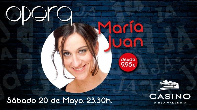 María Juan en Casino Cirsa Valencia
