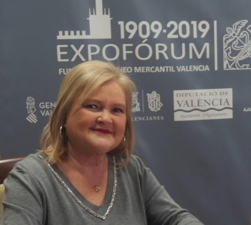 Carmen de Rosa, presidenta de la Fundación Ateneo Mercantil de Valencia