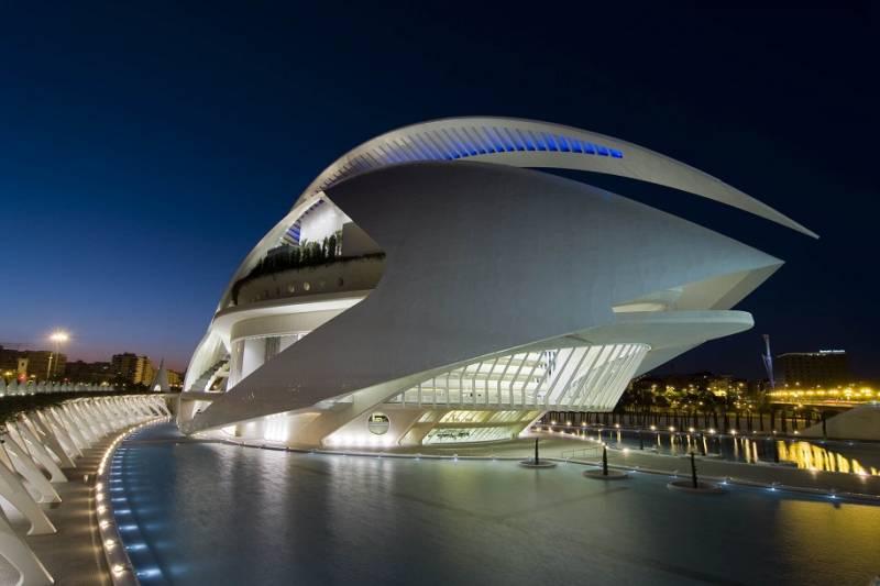 El Palau de les Arts. EPDA