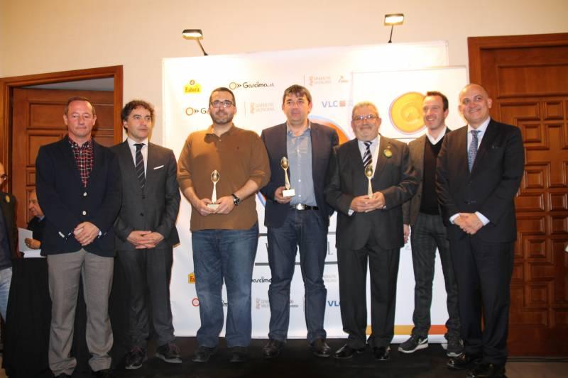 Los tres premios especiales wikipaella//E.C.