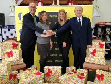 Donativo Bankia a Casa Caridad