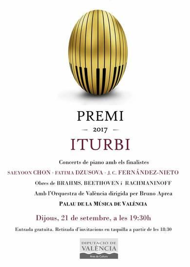El Premio Iturbi se acerca a la final con importantes novedades