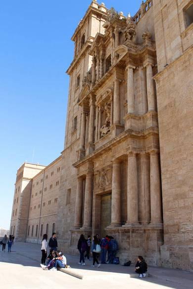 Entrada al monestir