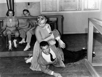 Monkey Business, Cary Grant y Marilyn Monroe