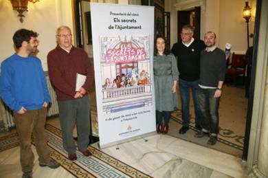 Joan Ribó ha presentado el cómic Els secrets de l?Ajuntament
