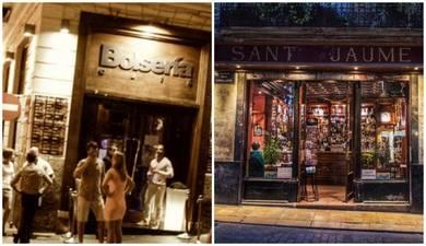El cierre de Café Sant Jaume y Bolsería desdibujan la mítica Plaza del Tossal en El Carmen