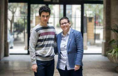 Isabel García y Eliseo Martínez