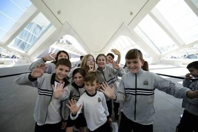 Escolares en CAC