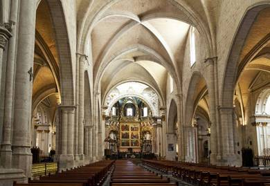 Interior de la Catedral de Valencia - Foto: guiartevalencia.com