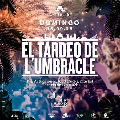 Umbracle tardeo 16 septiembre