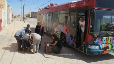 Autobús de EMT llega a Mali
