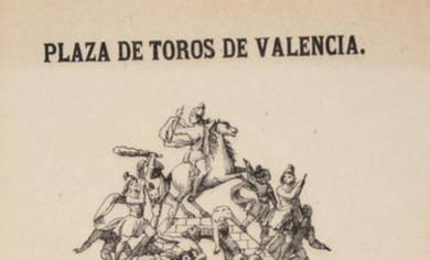Año 1877, el boceto más antiguo de una falla de Valencia -  Foto: archivo.dival.es