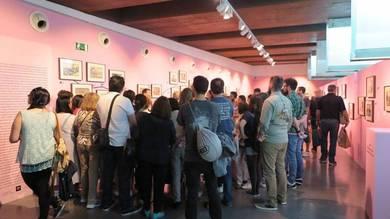 El MuVIM, desbordado en el Día y Noche Europea de los Museos